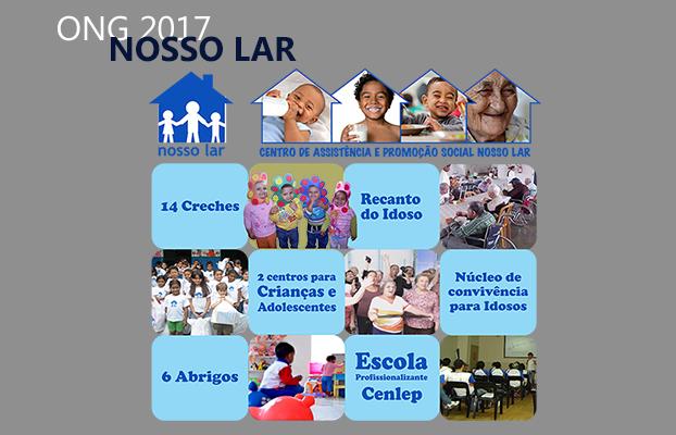 Diamond Visita uma das sedes do CAPS Nosso Lar- Centro de Assistência e Promoção Social Nosso Lar.