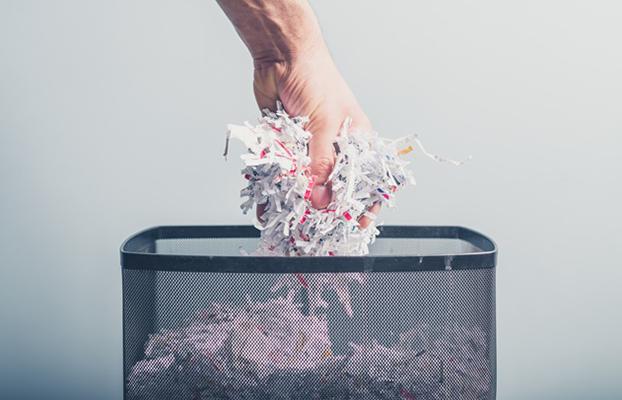 Trituração de papel: a função do processo para o meio ambiente